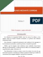 TEMA 7 - Transmisiones Mediante Correas