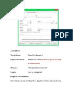 Configuración de La Página