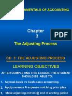 Accounting Adjustment-Accrued & Prepaid
