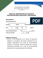 Guia de Observacion de Sesion de Psicomotricidad (1)