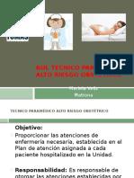 Rol Tecnico Paramédico Alto Riesgo Obstétrico