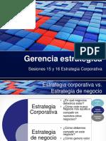 GE - Estrategia Corporativa