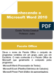 Conhecendo o Microsoft Word 2010