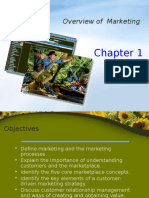 Chapter 1 - Overview of Marketing