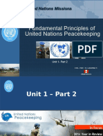 Unit 1 Part 2 Fundamental Principles of UN Peacekeeping