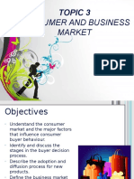 Chapter 3 - Marketing Consumer and Business Market