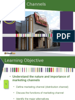 Chapter 7 - Marketing Channels