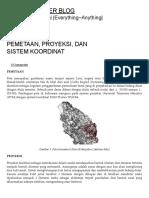 Pemetaan, Proyeksi, Dan Sistem Koordinat _ Denny Charter Blog