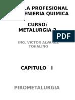 Metalurgia 2 Capitulo I 2016