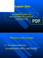 OSH Chapter 1 Introduction to Occupational Safety and Health