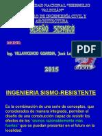 Diapositivas de Diseño Sismico Setiembre 2015