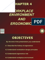 OSH Chapter 4 Workplace Environment and Ergonomics