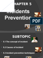 OSH Chapter 5 Incidents Prevention