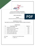(FINAL) Assignment 4 Methodology PART 1