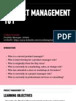 Product Management 101 Deck_CG