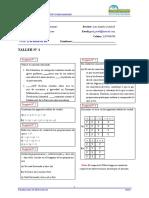 Taller N 1 Matematicas Modilo I