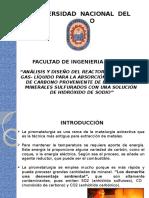 Análisis y Diseño Del Reactor Heterogéneo Gas