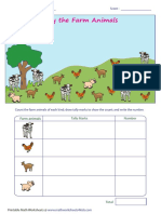 Counting Theme Farm Animals (1)