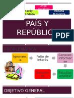Nación, Patria, País y República