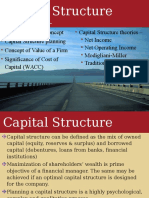 five capital Structure Theories