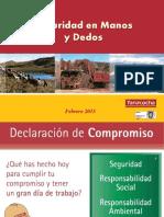 Seguridad en Manos y Dedos Yanacocha-Feb.2015