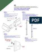 Traffic Door Frames - Structural Tube Frame51-Instruction-86