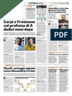 La Gazzetta dello Sport 26-05-2017 - Calcio Lega Pro