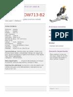 Sierra Ingleteadora DW713 10