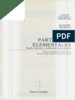 Libros de Investigación y Ciencia - Partículas Elementales, 2a Ed. (1986)