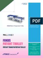 Fokus Patient Transportation Trolley