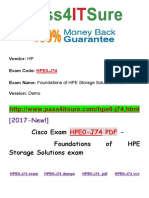 New Pass4itsure HP HPE0-J74 PDF - Foundations of HPE Storage Solutions exam