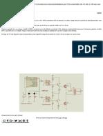 Convertidor de 12 VDC a 120 VAC Con IGBT