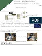 Control de Posicionamiento de 2 Motores Paso a Paso Con PIC RX, PIC TX, LCD y Teclado 4x4