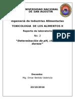 PRACTICA N° 02 - TOXICOLOGIA