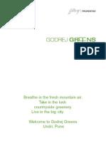 Premium 2 & 3 BHK flats in Pune | Godrej Greens, Undri
