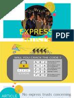 Express Trusts