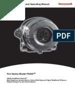 Fire Sentry FS24X Manual