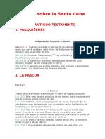 Textos Sobre La Santa Cena