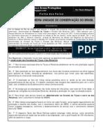 Ato de criação da Primeira Área Protegida no Brasil (1861)  /  Act of the first Brazil's Protected Area   (1861)