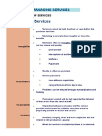 Managing Services Quality