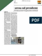 L'Erdis si arena sul presidente - Il Corriere Adriatico del 25 maggio 2017