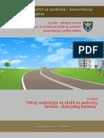 Uticaj saobraćaja na okoliš na području Zeničko-dobojskog kantona (2009) - Studija