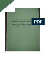 FPNCC  Peace Agreement & Ceasefire