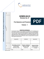 GEMSS-M-23 Rev 01- Fire Detection & ProtectionSystem