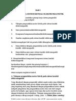 Prinsip Kerja Sistem Kendali Elektromagnetik