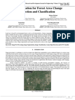 An Application for Forest Area Change Detection and Classification