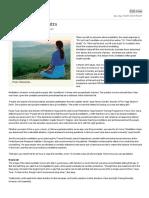 The Meditation Mantra - Print View - Livemint