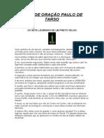CASA DE ORAÇÃO PAULO DE TARSO.doc