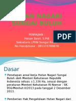 1.1 Hutan Nagari Sungai Buluh Expose (Pak Hasan Basri)