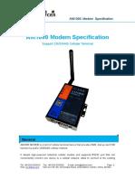 Xiamen Alotcer - AM1000 Modem Specification
